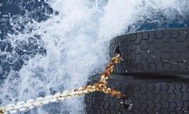 καταβρέχοντας κύματα ύδατος επιφάνειας Στοκ Εικόνες