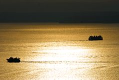 καταβρεγμένος ήλιος Στοκ φωτογραφία με δικαίωμα ελεύθερης χρήσης
