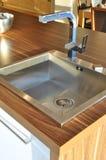 καταβόθρα κουζινών Στοκ εικόνες με δικαίωμα ελεύθερης χρήσης