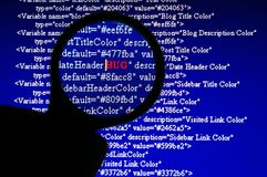 καταδίωξη προγραμματιστ&iot Στοκ Εικόνες