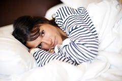 Καταθλιπτική γυναίκα στοκ φωτογραφία με δικαίωμα ελεύθερης χρήσης