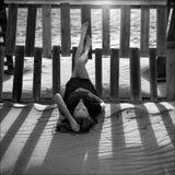 Καταθλιπτική γυναίκα Στοκ εικόνες με δικαίωμα ελεύθερης χρήσης