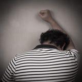 καταθλιπτικό άτομο Στοκ φωτογραφία με δικαίωμα ελεύθερης χρήσης