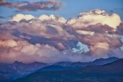 Καταιγίδα RMNP στοκ φωτογραφία
