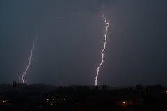 Καταιγίδα - αστραπή Στοκ φωτογραφία με δικαίωμα ελεύθερης χρήσης