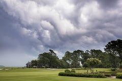 Καταιγίδα γηπέδων του γκολφ στοκ φωτογραφίες με δικαίωμα ελεύθερης χρήσης