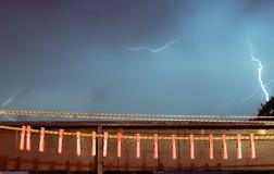 Καταιγίδα και γόμφοι Στοκ Εικόνα