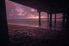 Καταιγίδα πρωινού Dania στοκ εικόνες