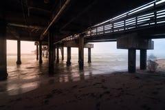 Καταιγίδα πρωινού Dania στοκ φωτογραφία με δικαίωμα ελεύθερης χρήσης