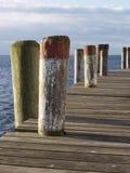 κατακόρυφος αποβαθρών π&rho Στοκ φωτογραφίες με δικαίωμα ελεύθερης χρήσης