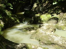 κατακόρυφος ποταμών πανοράματος βουνών 3 εικόνων hdr Στοκ φωτογραφίες με δικαίωμα ελεύθερης χρήσης