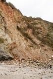 Κατακόρυφος πτώσης βράχου απότομων βράχων στοκ εικόνες