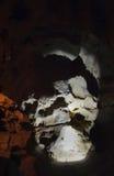 Κατακόρυφος σπηλιών κρυστάλλου Στοκ Εικόνες