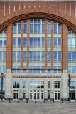 Κατακόρυφος του κέντρου της American Airlines στο Ντάλλας Στοκ Φωτογραφία
