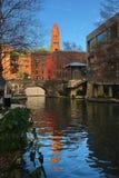 Κατακόρυφος του San Antonio Riverwalk Στοκ εικόνα με δικαίωμα ελεύθερης χρήσης