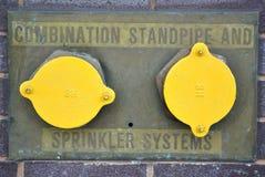 κατακόρυφος υδροσωλήν&a Στοκ φωτογραφίες με δικαίωμα ελεύθερης χρήσης