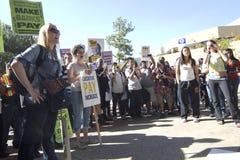 καταλάβετε το ucla διαμαρτ&ups Στοκ εικόνες με δικαίωμα ελεύθερης χρήσης