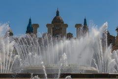 Καταλανικό εθνικό Μουσείο Τέχνης στη Βαρκελώνη 04 16 2018 Ισπανία Στοκ Φωτογραφία