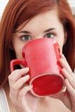 κατανάλωση καφέ Στοκ φωτογραφίες με δικαίωμα ελεύθερης χρήσης
