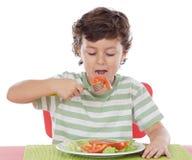 κατανάλωση παιδιών υγιής Στοκ εικόνα με δικαίωμα ελεύθερης χρήσης
