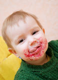 κατανάλωση παιδιών Στοκ φωτογραφία με δικαίωμα ελεύθερης χρήσης
