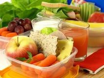 κατανάλωση σιτηρεσίου υγιής Στοκ Εικόνα