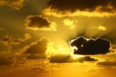 κατανάλωση του ήλιου τ&epsilon Στοκ Φωτογραφία