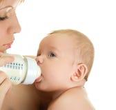 Κατανάλωση του μωρού Στοκ Εικόνες