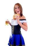 κατανάλωση pretzel στοκ εικόνες