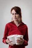 κατανάλωση καφέ Στοκ Φωτογραφίες