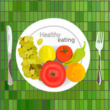 κατανάλωση υγιής Στοκ Εικόνα