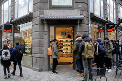 Καταναλωτής με το πρότυπο sply-320 δυτικών παπουτσιών Kenny Στοκ Εικόνες