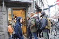 Καταναλωτής με το πρότυπο sply-320 δυτικών παπουτσιών Kenny Στοκ Φωτογραφία