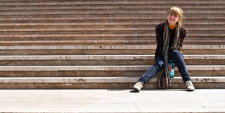 καταπληκτικά σκαλοπάτι&alpha Στοκ εικόνα με δικαίωμα ελεύθερης χρήσης