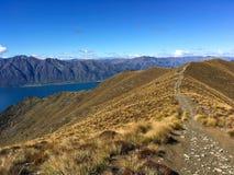 Καταπληκτική άποψη από τα βουνά στοκ εικόνες