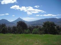 Καταπληκτική άποψη στην κοιλάδα του δυτικού τμήματος της Γουατεμάλα στοκ φωτογραφία με δικαίωμα ελεύθερης χρήσης