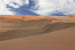 Καταπληκτική άποψη στον αμμόλοφο 7 Ναμίμπια στοκ εικόνες