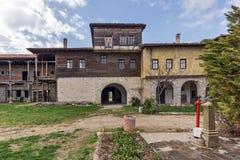 Καταπληκτική άποψη του μοναστηριού Arapovo Αγίου Nedelya, Βουλγαρία Στοκ εικόνα με δικαίωμα ελεύθερης χρήσης