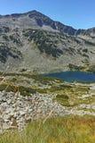 Καταπληκτική άποψη Dalgoto η μακριά λίμνη, βουνό Pirin Στοκ εικόνες με δικαίωμα ελεύθερης χρήσης