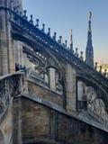 Καταπληκτική αρχιτεκτονική στο αριστούργημα άποψης στεγών Di Μιλάνο Ι στοκ φωτογραφίες με δικαίωμα ελεύθερης χρήσης
