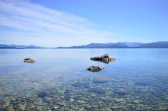 Καταπληκτική λίμνη της Παταγωνίας στοκ εικόνα με δικαίωμα ελεύθερης χρήσης