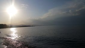 Καταπληκτική λίμνη Sevan παραδείσου απόθεμα βίντεο