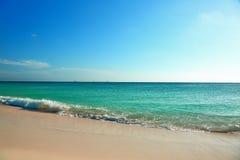 Καταπληκτική παραλία θάλασσας ομορφιάς καραϊβική Στοκ Φωτογραφίες