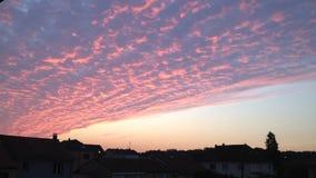 Καταπληκτικός ουρανός, Γαλλία Στοκ Φωτογραφία