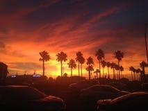 Καταπληκτικό ηλιοβασίλεμα Galveston στοκ εικόνα με δικαίωμα ελεύθερης χρήσης
