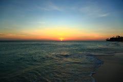 καταπληκτικό ηλιοβασίλ&ep όμορφος φυσικός ανασκόπησης Στοκ φωτογραφία με δικαίωμα ελεύθερης χρήσης