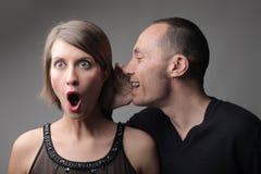 καταπληκτικό κουτσομπολιό Στοκ φωτογραφία με δικαίωμα ελεύθερης χρήσης