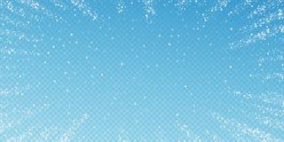 Καταπληκτικό μειωμένο υπόβαθρο Χριστουγέννων αστεριών λεπτός ελεύθερη απεικόνιση δικαιώματος