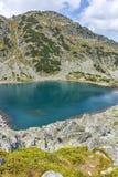 Καταπληκτικό τοπίο των λιμνών Musalenski, βουνό Rila Στοκ Εικόνες
