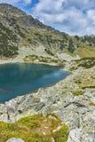 Καταπληκτικό τοπίο των λιμνών Musalenski, βουνό Rila Στοκ φωτογραφίες με δικαίωμα ελεύθερης χρήσης